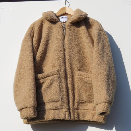 【I AM GIA】boa jacket beige ~from D~