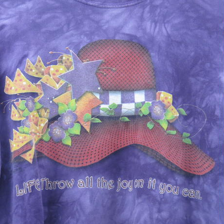 パープル t-shirt
