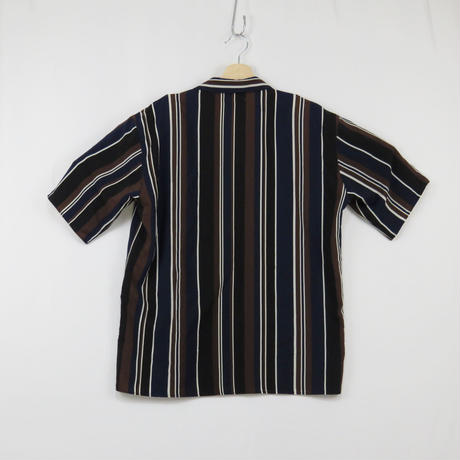 【tk.TAKEO KIKUCHI】stripe open collar shirt~from しゅんぺい~