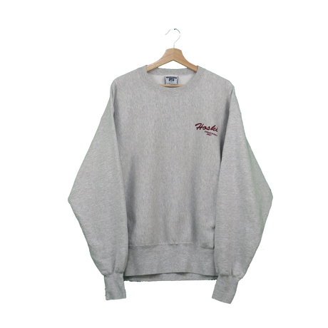 【90'S CROSS GRAIN】sweat(gray)