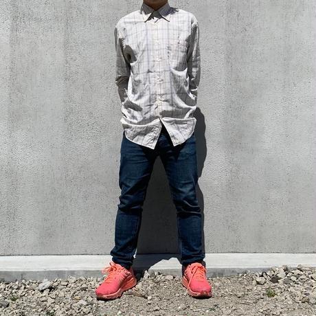 【LACOSTE】check shirt