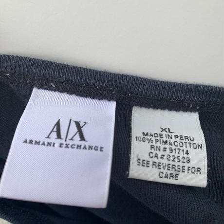 【ARMANI EXCHANGE】 t-shirt 〜from D〜