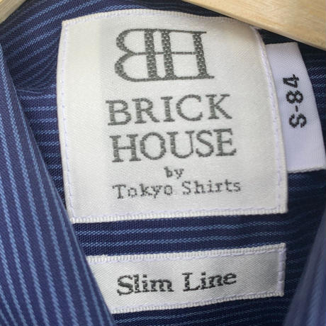 【BRICK HOUSE】 slim shirt 〜from D〜