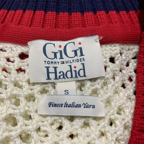 【TOMMY HILFIGER✖️GiGi Hadid 】v neck sweater 〜from D〜