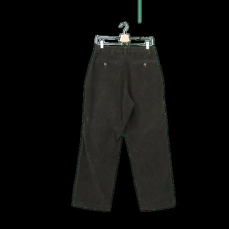 3 tuck corduroy pants(brown)