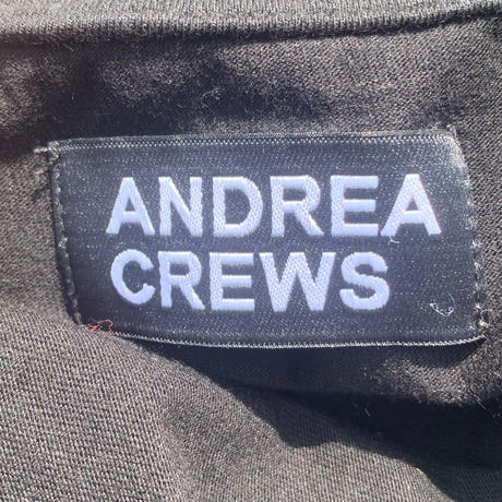 【ANDREA CREWS】t-shirt ~from D~
