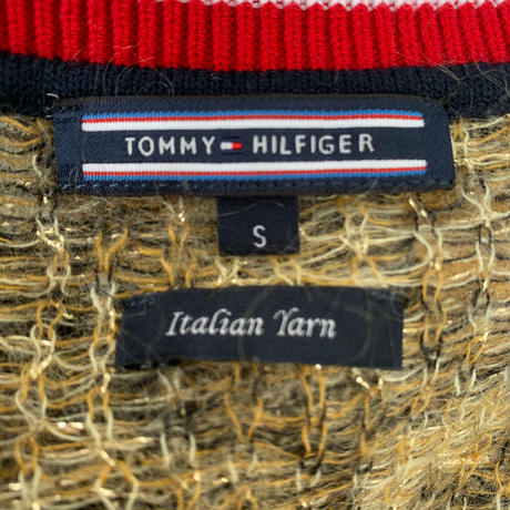 【TOMMY HILFIGER】 v-neck Knit〜from D〜