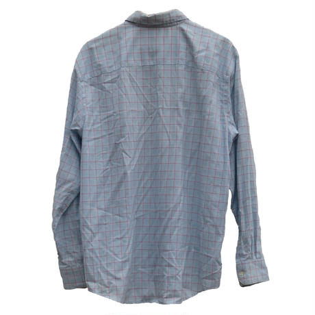 【WRINKE RESISTANT】 check shirt~from D~