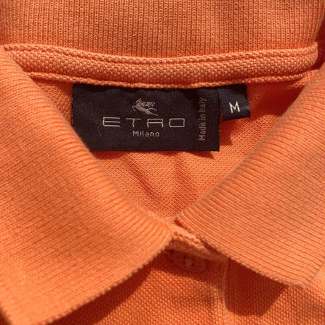 【ETRO】 polo shirt〜from D〜