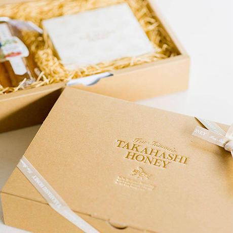 【サバソニクラファン 限定10名サバ】伊豆下田高橋養蜂 ナッツのハチミツ漬け&ハチミツせっけん3838ギフトセット