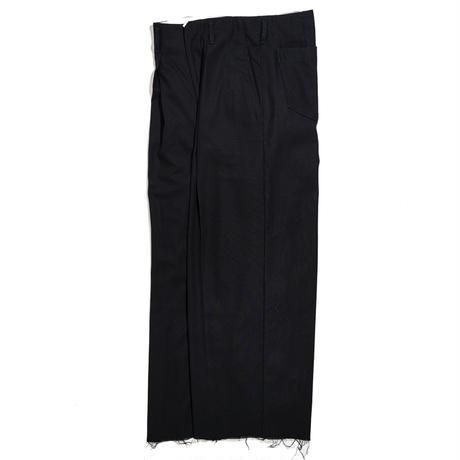 *EXCLUSIVE / saby / TUCK BAGGY -HARD TWISTED YARN CLOTH-