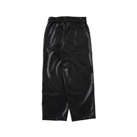 saby / AW2021 / SUPER BIG PANTS -WASHABLE LAMB TOUCH SKIN-