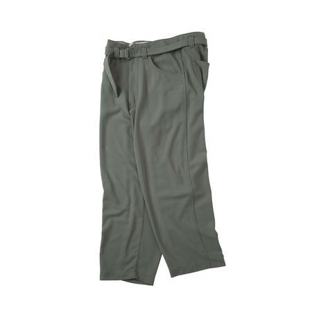 saby / SUPER BIG PANTS -40/4 DRY HEAVY TWILL-