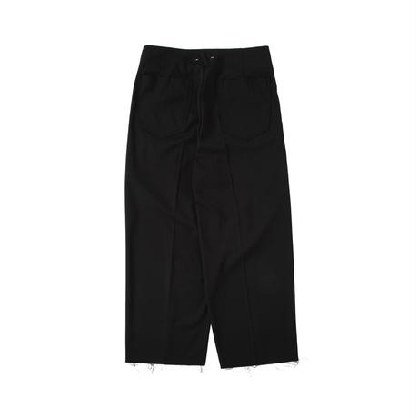 saby / AW2021 / TUCK BAGGY -VISCOSE TWILL-
