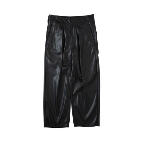 saby / TUCK BAGGY -WASHABLE LIGHT LEATHER-