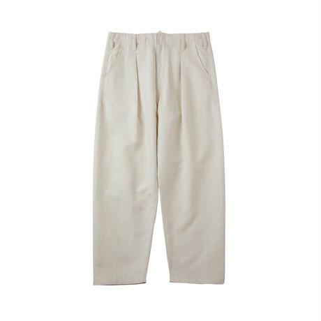 saby / BIG PANTS -WHITE LINEN-