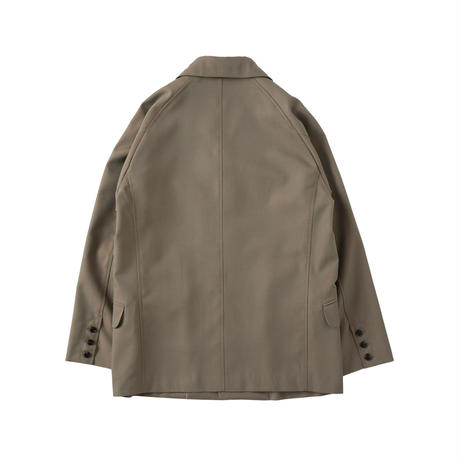 saby / 4B JACKET -IRIDESCENT FABRIC-