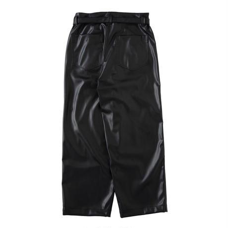 saby / SUPER BIG PANTS -WASHABLE LAMB SKIN-