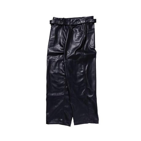*EXCLUSIVE / saby / SUPER BIG PANTS -WASHABLE LAMB SKIN-