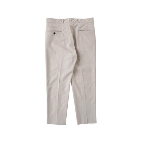 saby / AW2021 / POLY WORK PANTS -AMARETTA-