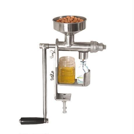 オイルプレスマシン 手動油搾り機 低温圧搾機 家庭用 業務用
