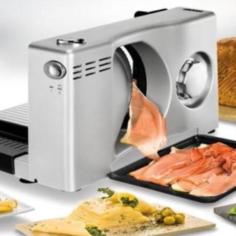 ミートスライサー 電動スライサー卓上フードスライサー 業務用 家庭用 塊肉 肉