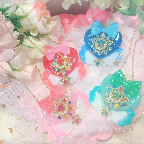 magically heart pendant