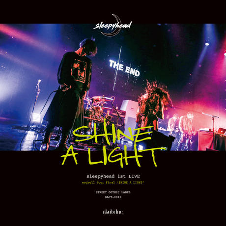 sleepyhead 1st LIVE DVD「SHINE A LIGHT」【通常版】SACT-0010