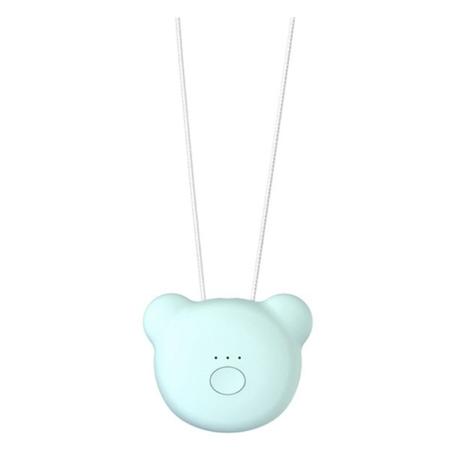 ウェアラブル空気清浄機 ネックレス ポータブル マイナスイオン発生器