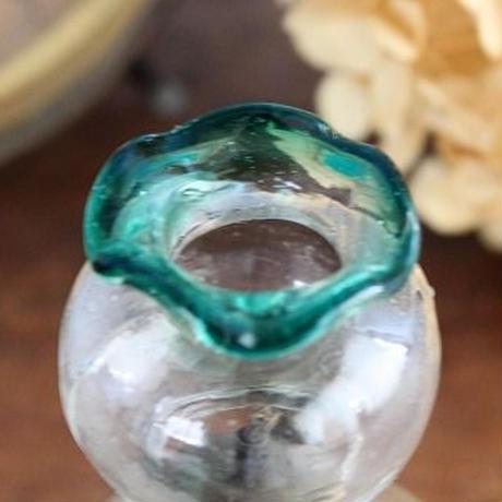 品番 a-0277 豆ランプ 金魚鉢緑