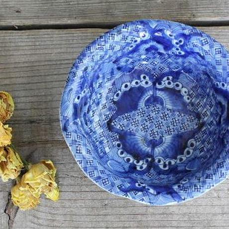 品番 t-0188 古伊万里 蝶の図小鉢