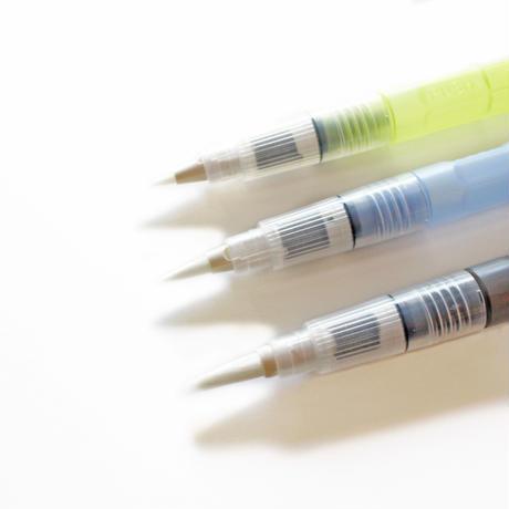 STAEDTLER 水筆 3本(太筆・中筆・細筆)セット