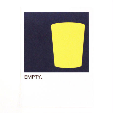 "WRITE&DRAW.  ORIGINAL GRAPHIC CARD ""EMPTY"""