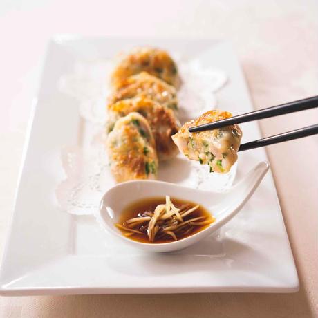 105.韮菜餅(ニラまんじゅう)6入[冷凍]