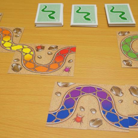 虹色のヘビ