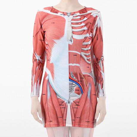 VISIBLE TS-02 / 浅層筋+深層筋 Tシャツタイプ