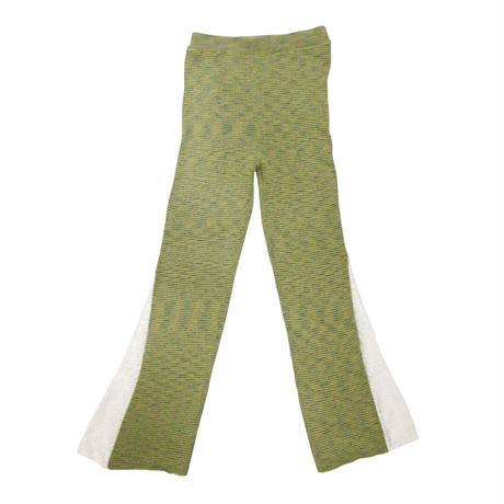 Soft heather pants / Flower lace < 3 colors >