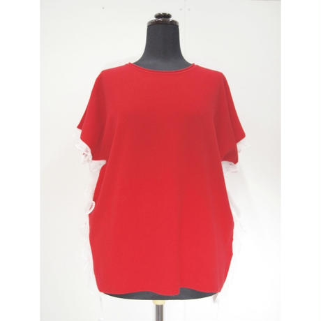 BIG POLO TEE_Red[side/sleeve race]