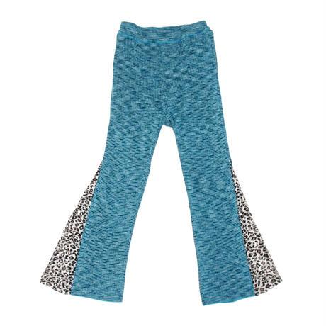 Soft heather pants / Leopard lace < 2 colors >
