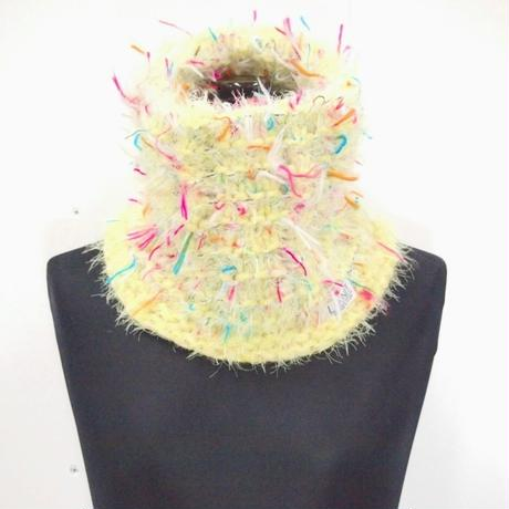 funky fur knit snood