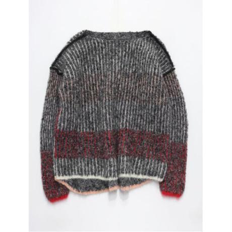 Big loop colorful Pullover (+snood)