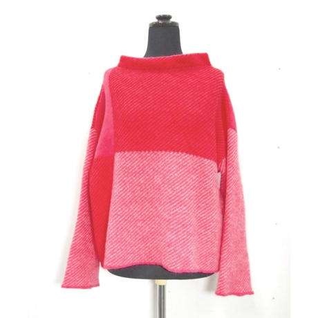 Combination knit <Pink> _ Ladies S / Ladies F