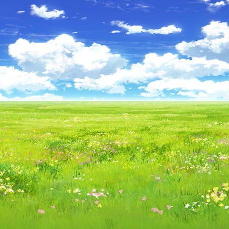 【イラスト背景】【合作】時差雲03_07