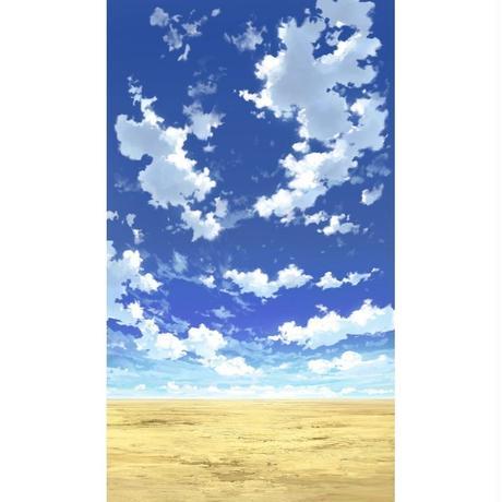 【イラスト背景】【合作】青空_縦PAN用04_03