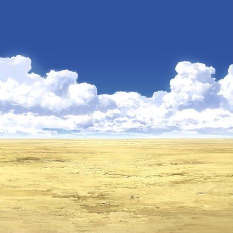 【イラスト背景】【合作】時差入道雲05_03