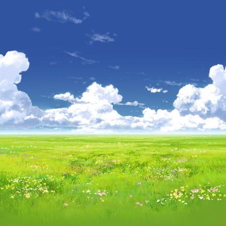 【イラスト背景】【合作】時差入道雲03_07