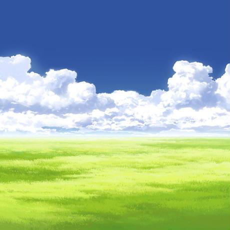 【イラスト背景】【合作】時差入道雲05_11