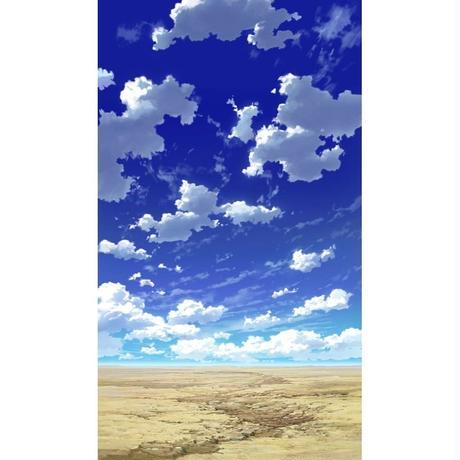 【イラスト背景】【合作】青空_縦PAN用02_09