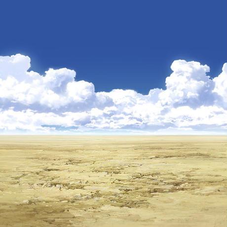 【イラスト背景】【合作】時差入道雲05_06