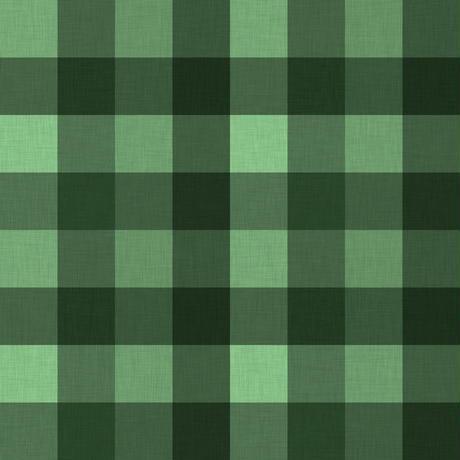 緑チェック柄05